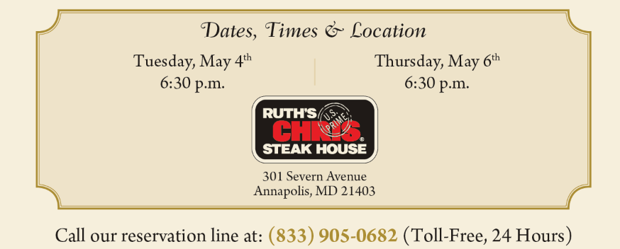 Retirement Planning Dinner Event